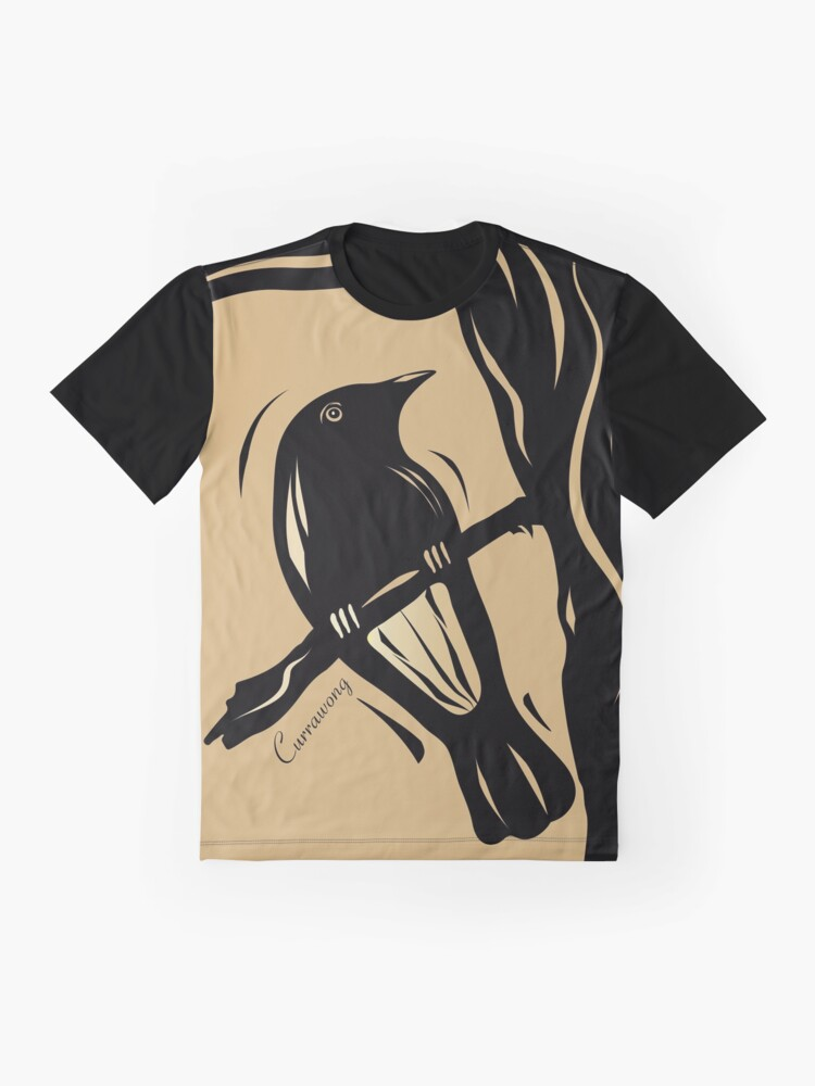 Alternate view of The Currawong Graphic T-Shirt