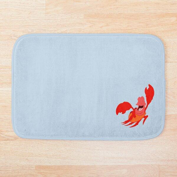 Red Crustacean Bath Mat