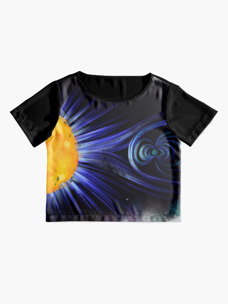 Alternate view of Magnetic Fields Chiffon Top