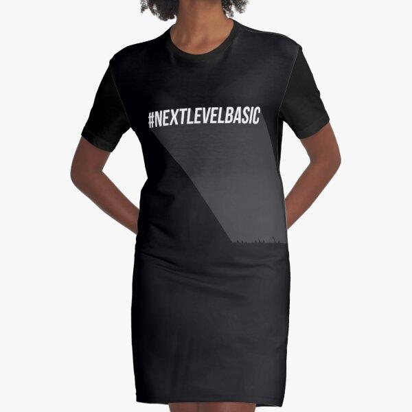 Next level basic quote Graphic T-Shirt Dress