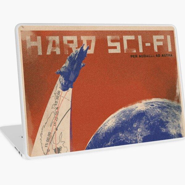 Hard Sci-Fi Genre Poster Laptop Skin