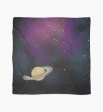 Saturn - Alien Ring Planet and Galaxy Scarf