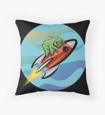 Space Tardigrade: Intrepid Explorer Throw Pillow