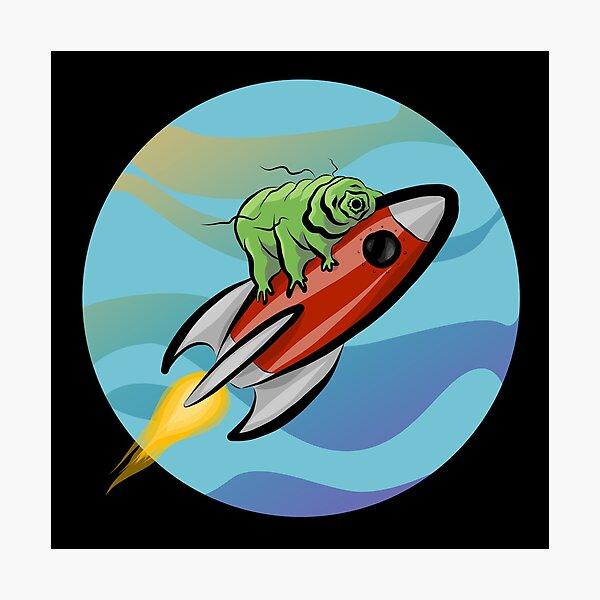 Space Tardigrade: Intrepid Explorer Photographic Print