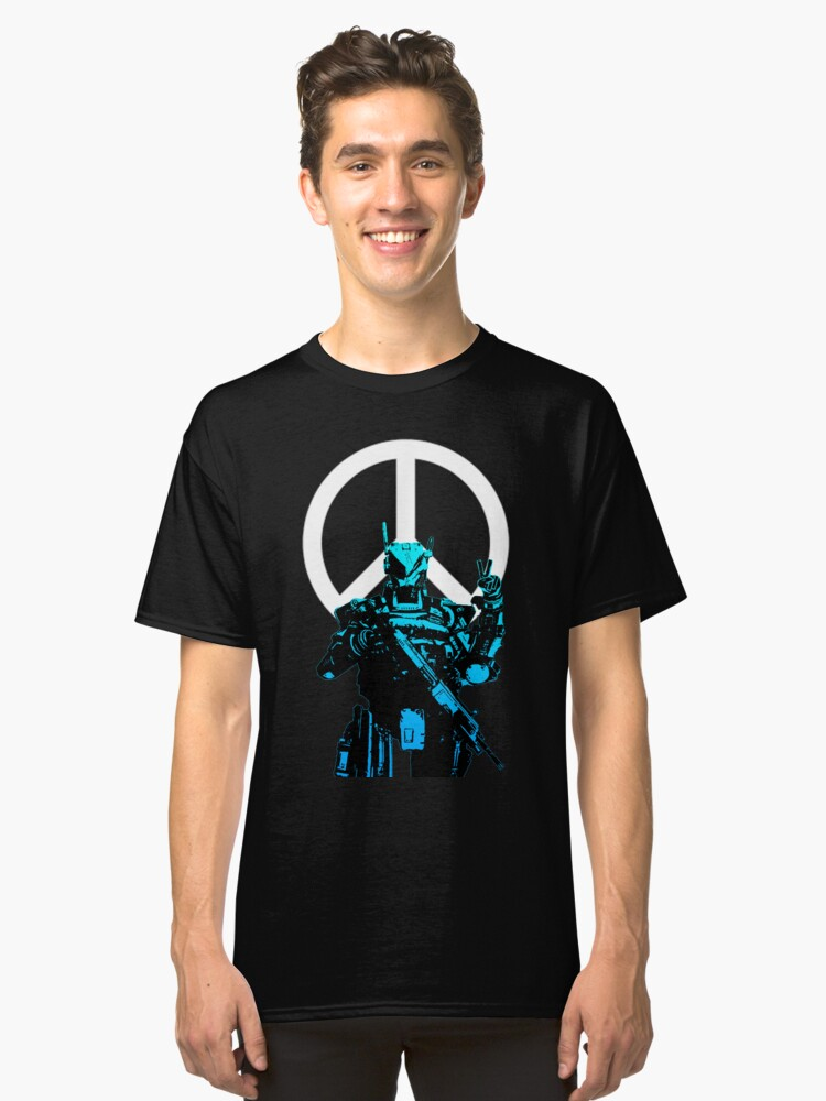 Titanfall: Spectre Peace Classic T-Shirt Front