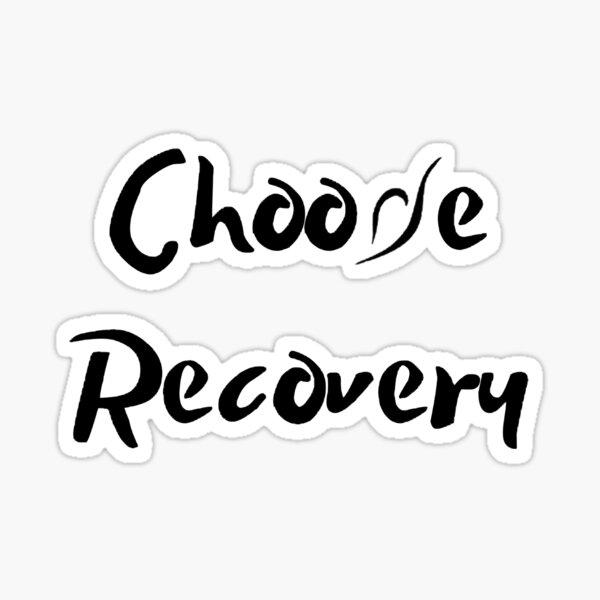 Choose Recovery NEDA Symbol Sticker