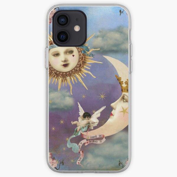 Sun and Moon - Celestial Angel - Tarot Sun- Tarot Moon iPhone Soft Case