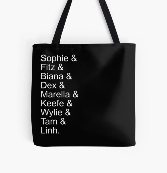 Keeper of the Lost Cities Cast All Over Print Tote Bag