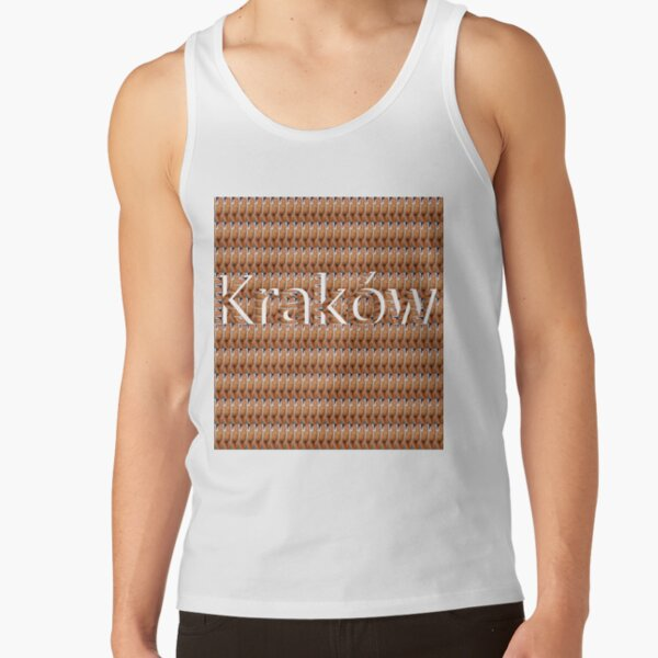 Kraków (Cracow, Krakow), Southern Poland City, Leading Center of Polish Academic, Economic, Cultural and Artistic Life Tank Top