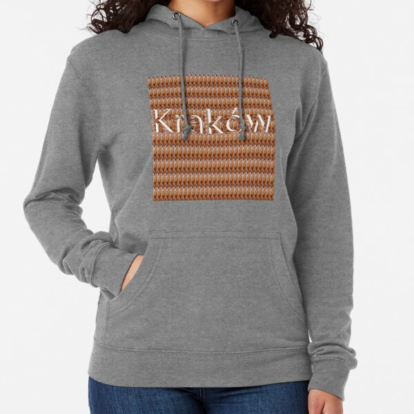 Kraków (Cracow, Krakow), Southern Poland City, Leading Center of Polish Academic, Economic, Cultural and Artistic Life Lightweight Hoodie