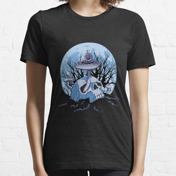 Skull Meditation Color Essential T-Shirt