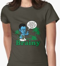 Lost Brainy Ben  Women's Fitted T-Shirt