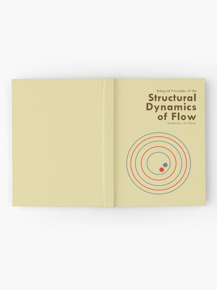 Alternate view of Structural Dynamics of Flow Hardcover Journal