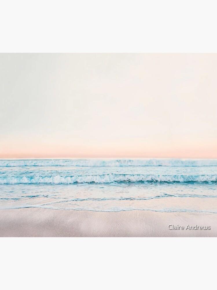 Minimalist Ocean Print by Claireandrewss