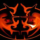 Pumpkin Head by Dmarie Becker