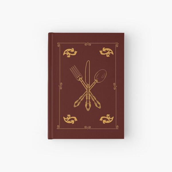 Solo agregue utensilios mágicos de oro con borde Cuaderno de tapa dura