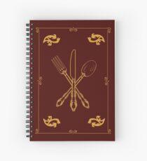 Cuaderno de espiral Solo agrega los utensilios mágicos de oro con borde