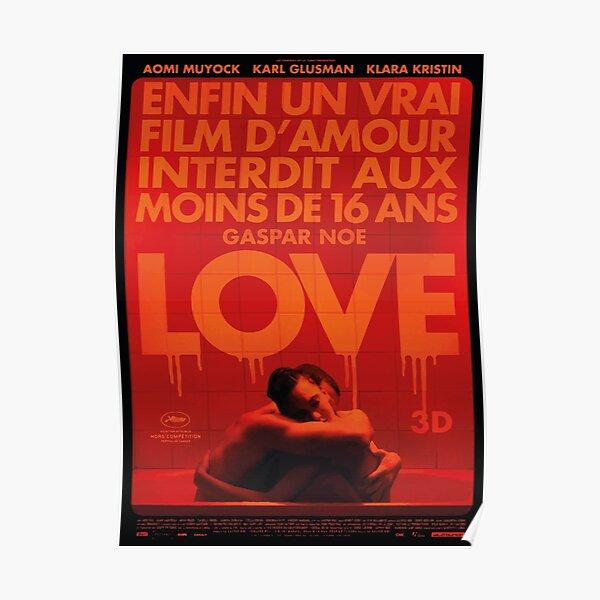 gaspar noé / love poster #2 Poster