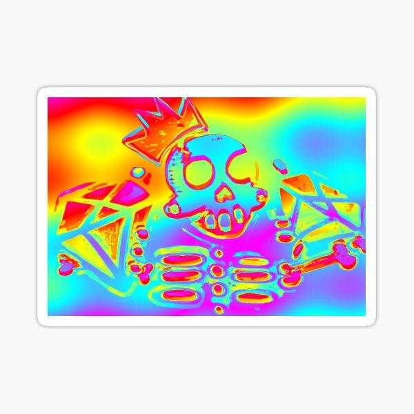 Rainbow Zanoskull Sticker