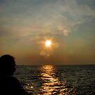 Ocean Sunset by InvictusPhotog