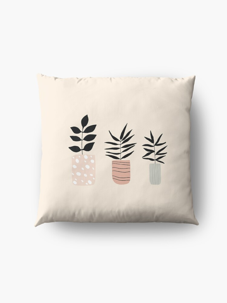 Alternate view of Plant Life Floor Pillow