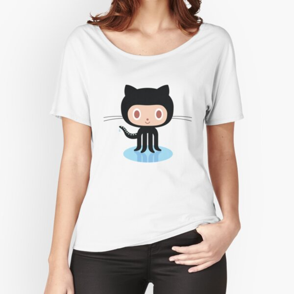 ★ Github octocat Relaxed Fit T-Shirt