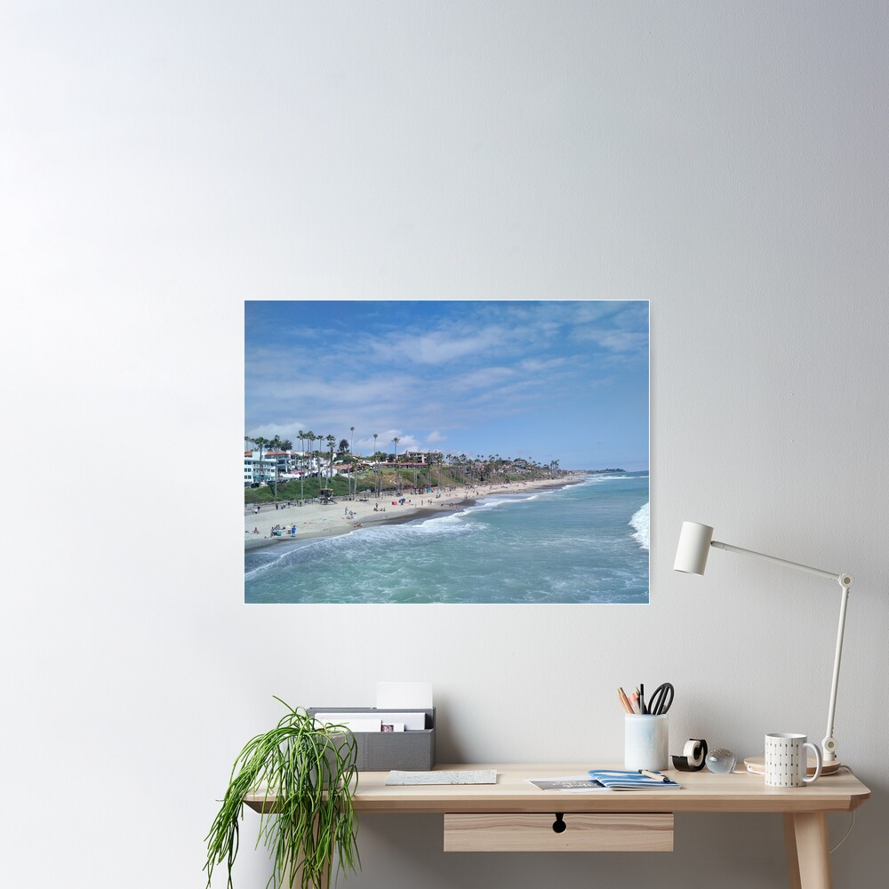 San Clemente Beach Poster