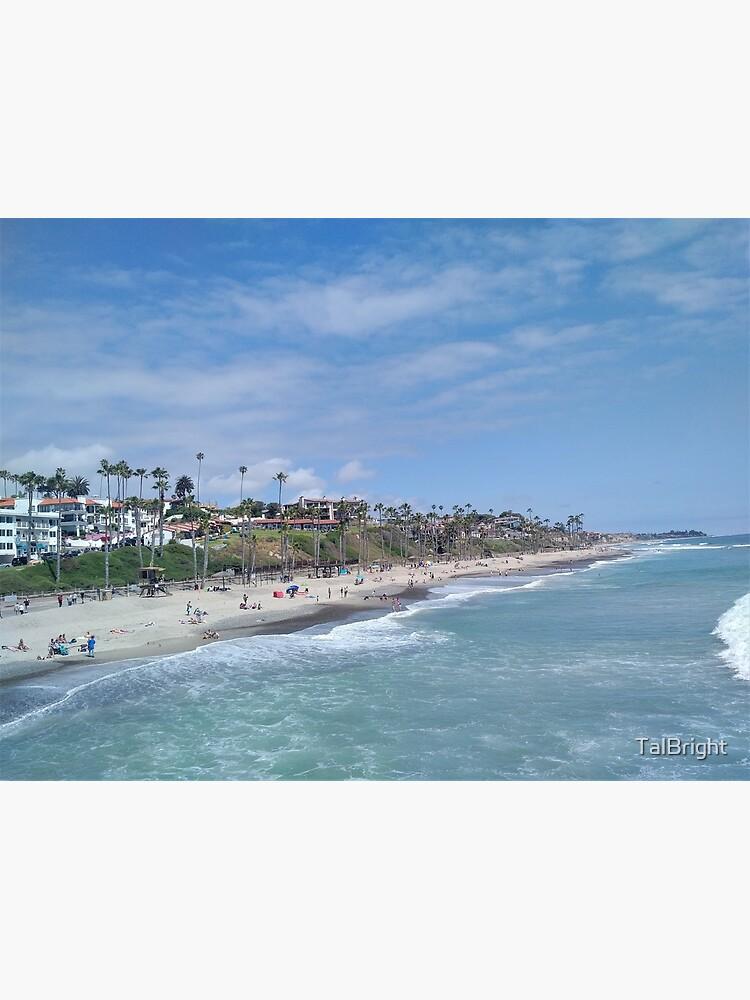 San Clemente Beach by TalBright
