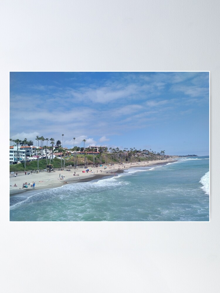Alternate view of San Clemente Beach Poster