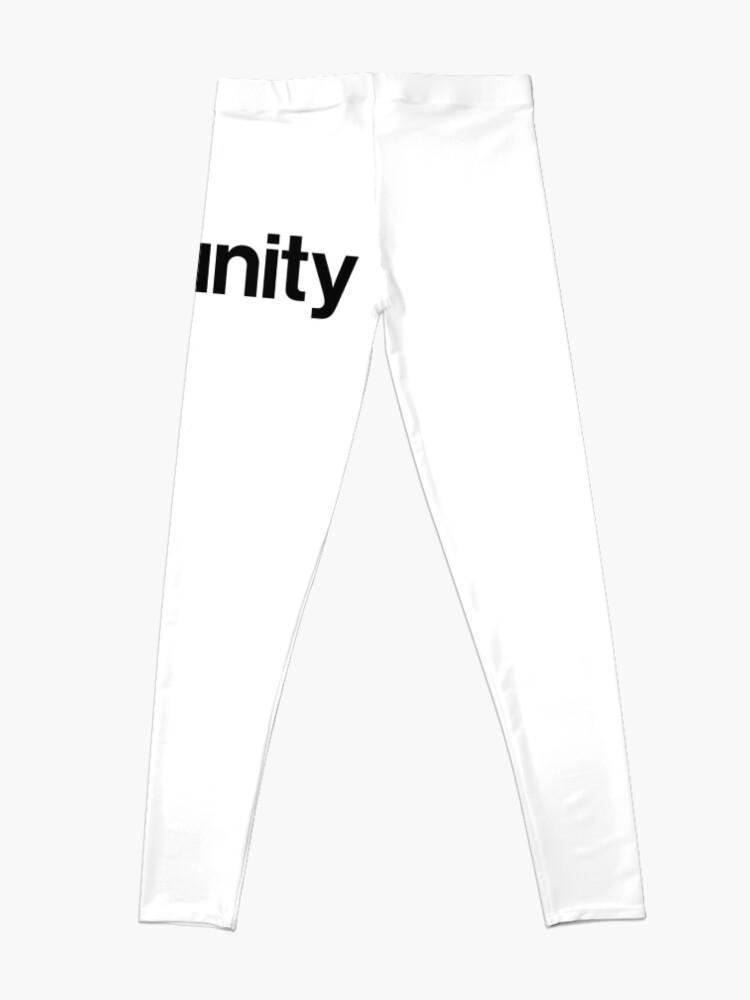 Alternate view of Unity 3D Leggings