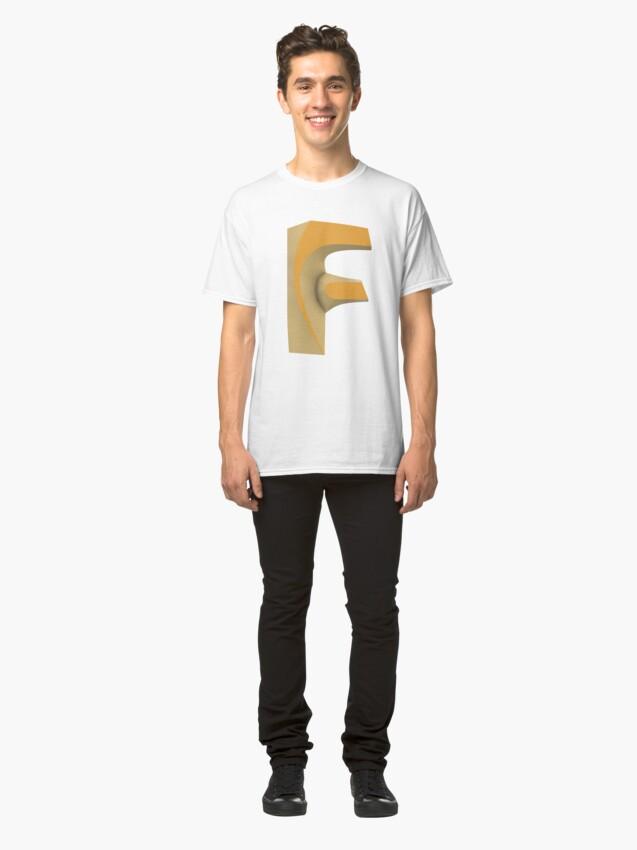Alternate view of ★ Fusion 360 Designer Classic T-Shirt