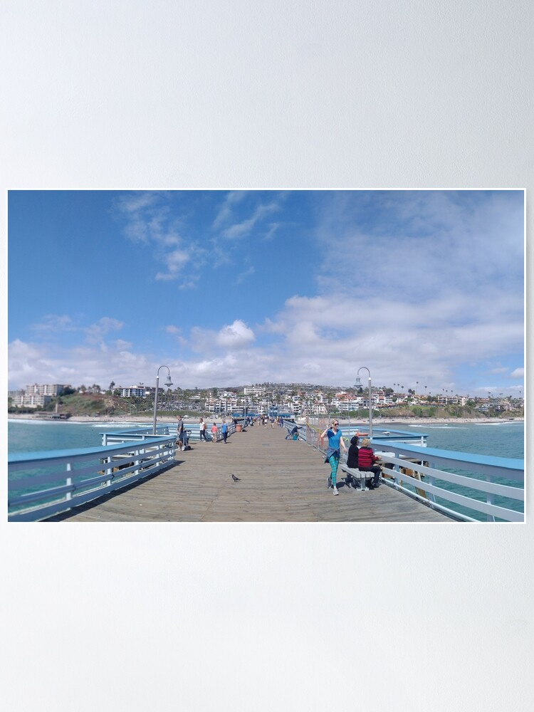 Alternate view of  San Clemente Pier Poster