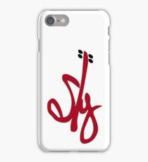 Sly Geralds Band Logo iPhone Case/Skin