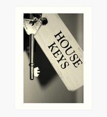 House Keys Art Print