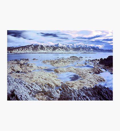 Kaikoura infrared 1 Photographic Print