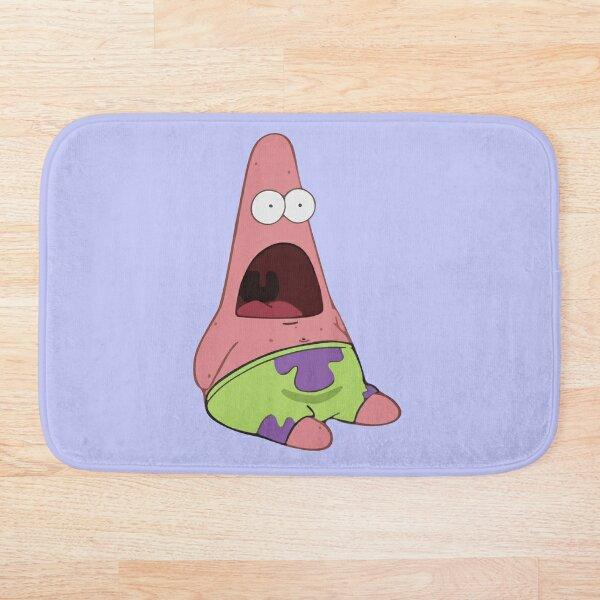 Patrick Surprised Meme Bath Mat