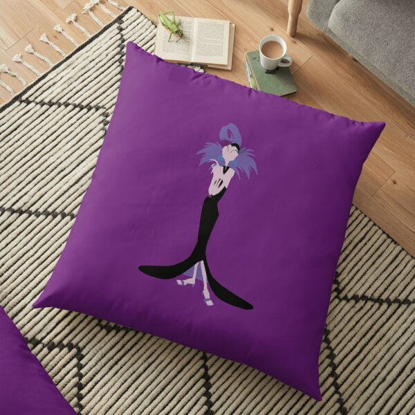 Scary Beyond All Reason Floor Pillow