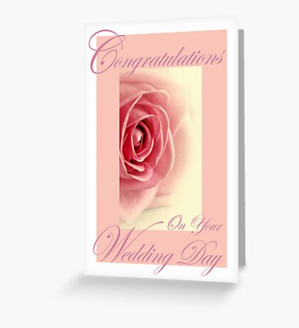 Wedding Card. Greeting Card
