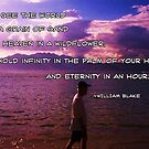 William Blake's famous quote by Alicia R. Bernal