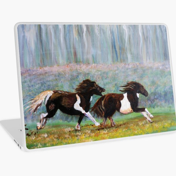 Angry Little Ponies Laptop Skin