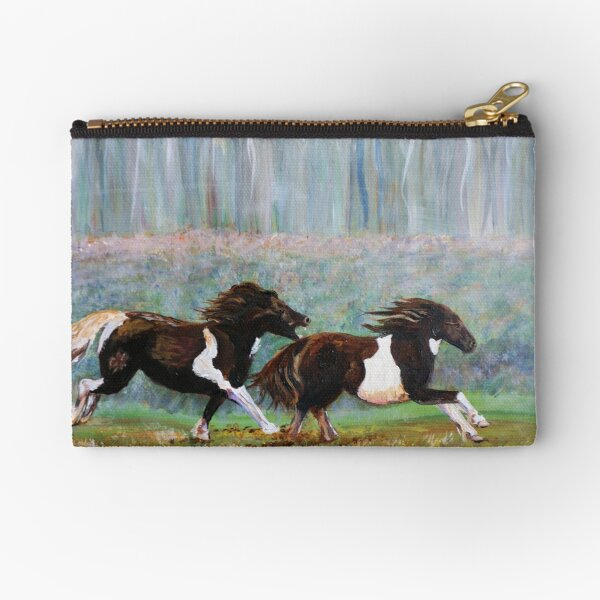 Angry Little Ponies Zipper Pouch