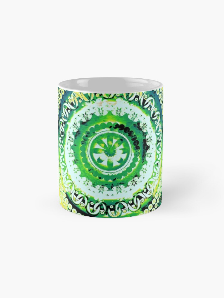 Alternate view of LEMON LIME MANDALA Mug