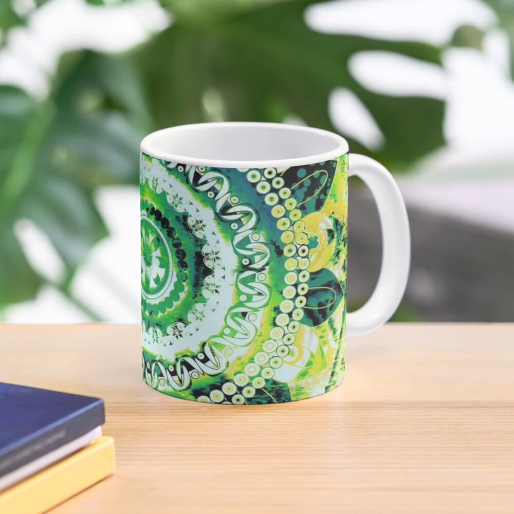 LEMON LIME MANDALA Mug