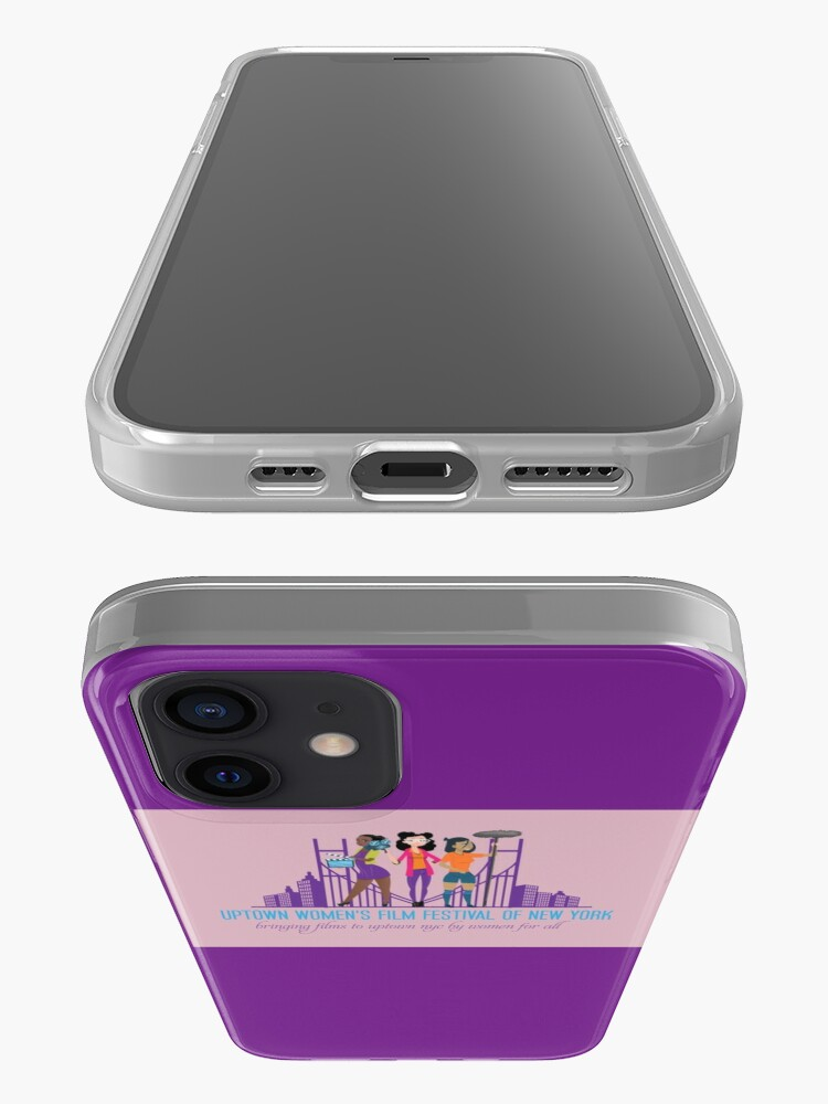 Alternate view of Uptown Women's Film Festival of New York iPhone Case & Cover