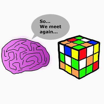 Brain V.S. Rubik's Cube by Minicliptube