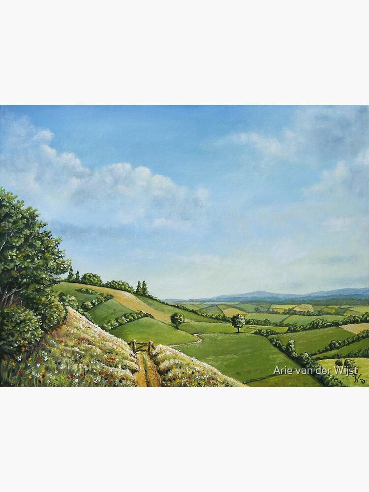 Hillside Delight by Aart