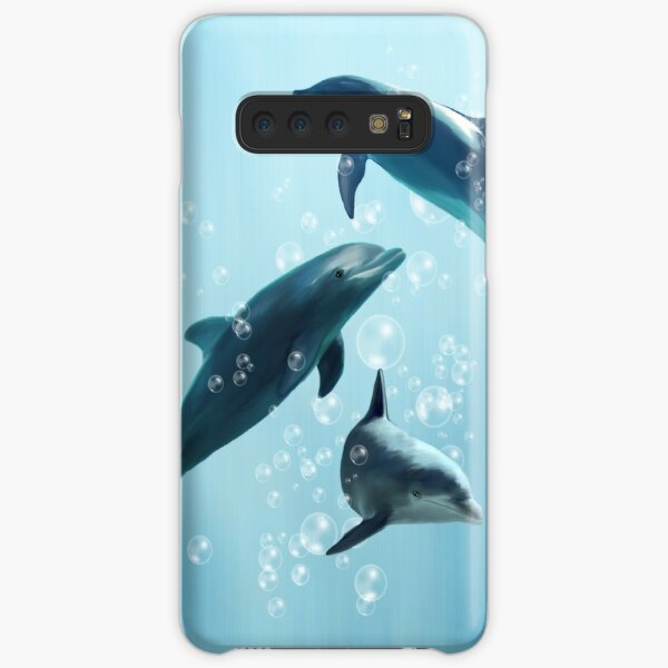 Dolphins in the Sea Samsung Galaxy Snap Case