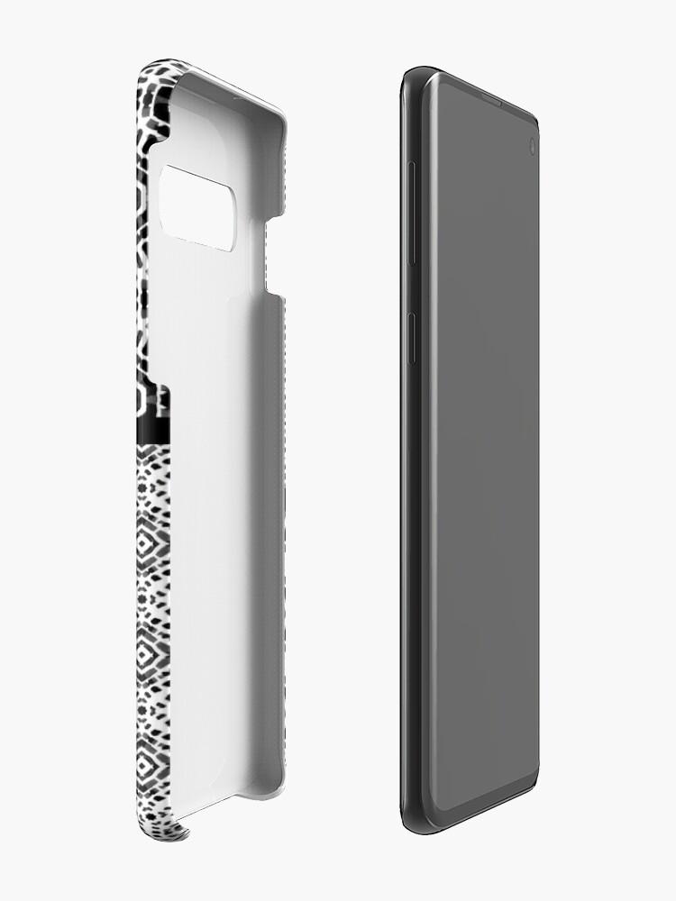 Alternate view of Shibori Quilt Ornament Case & Skin for Samsung Galaxy