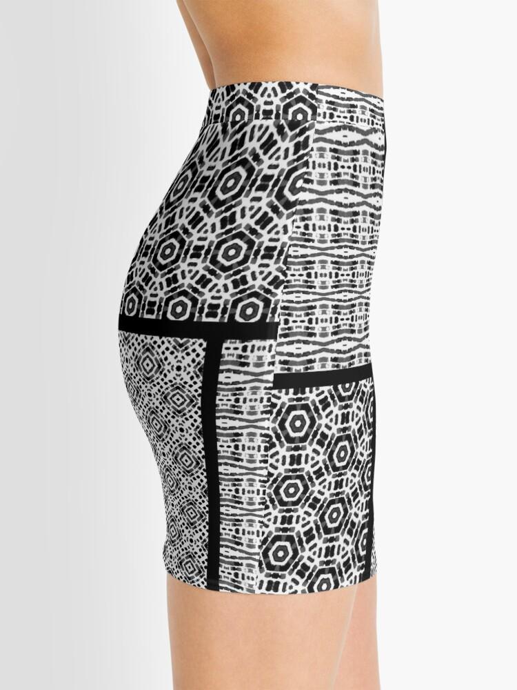 Alternate view of Shibori Quilt Ornament Mini Skirt