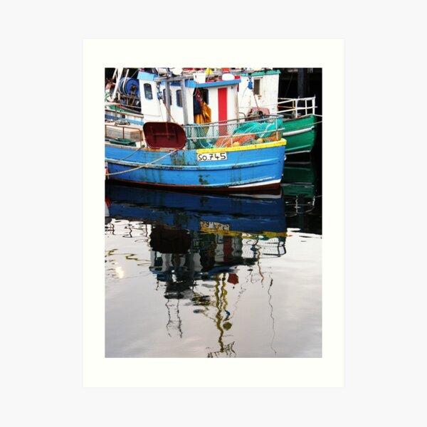 Burtonport Dungloe Co. Donegal Ireland Art Print